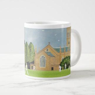 Cricket on Churchill Green Giant Coffee Mug