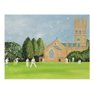 Cricket on Churchill Green Postcard