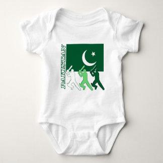 Cricket Pakistan Baby Bodysuit