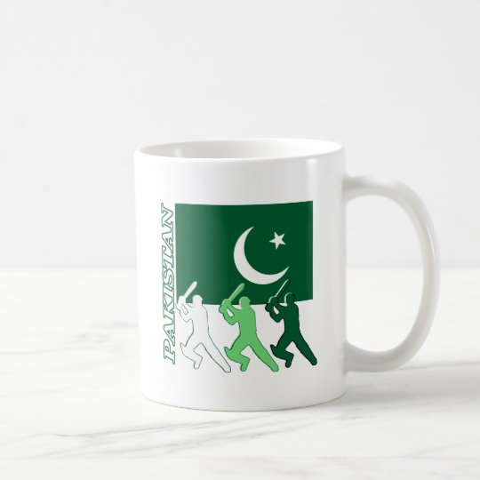 Cricket Pakistan Coffee Mug