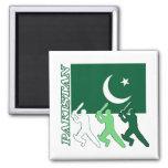 Cricket Pakistan Fridge Magnet