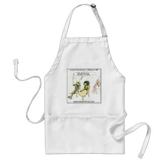 Cricket Pick-Up Lines Funny Adult Apron