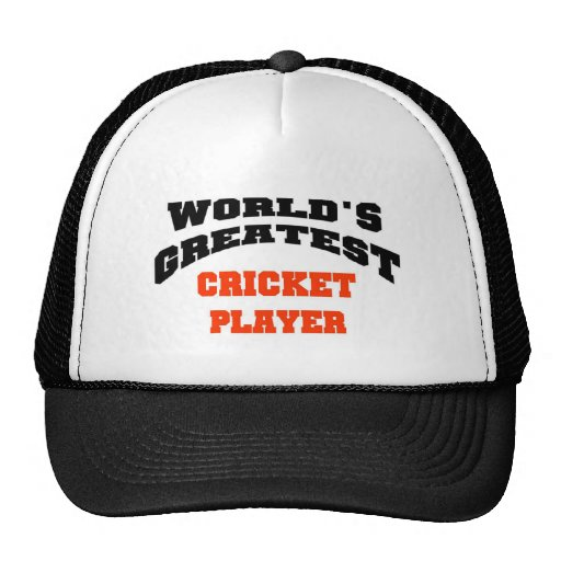 Cricket player hats