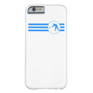 Cricket Player Stripes (Blue) Barely There iPhone 6 Case
