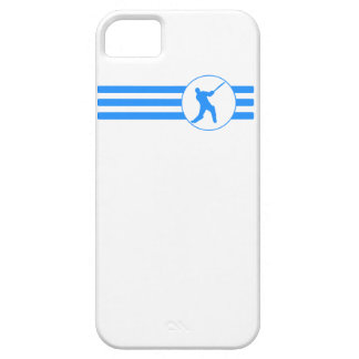 Cricket Player Stripes (Blue) iPhone 5 Cases