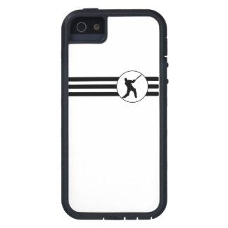 Cricket Player Stripes iPhone 5 Cases