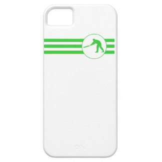 Cricket Player Stripes (Green) iPhone 5 Covers
