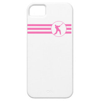 Cricket Player Stripes (Pink) iPhone 5 Cover