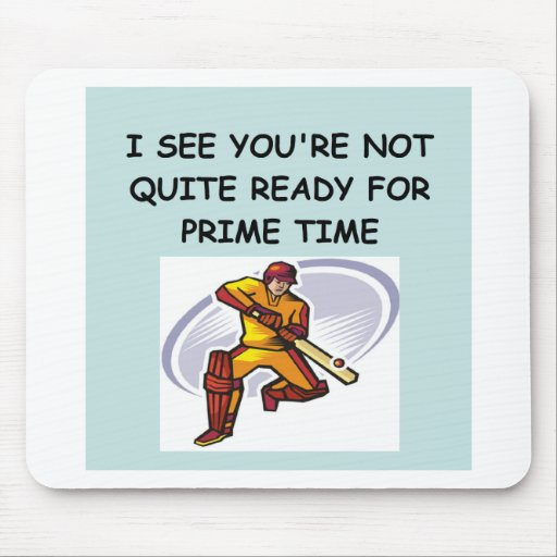 CRICKET.png Mouse Pads
