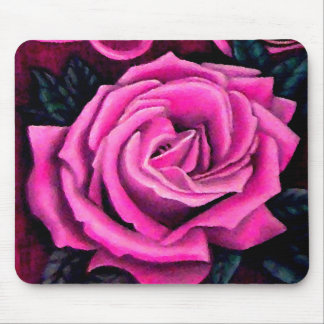 Cricket s Pink Rose Romantic Pretty Pastel Mom Mousepad