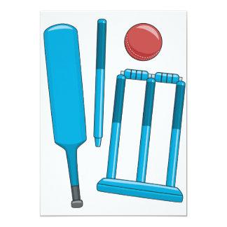 Cricket Set Invitations