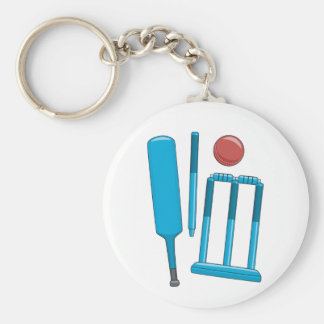 Cricket Set Keychain