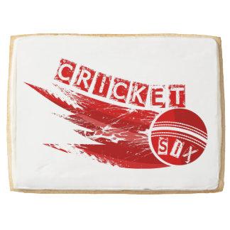 Cricket Sixer Shortbread Cookie