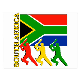 Cricket South Africa Postcard