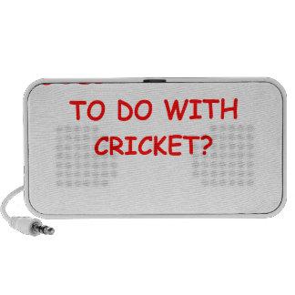 cricket mini speakers