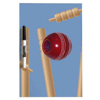 Cricket_Stumps,_ Dry Erase Board