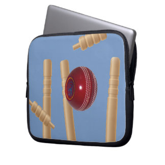 Cricket_Stumps,_Protective_10inch_Laptop_Sleeve. Laptop Sleeve