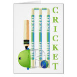 Cricket Tees and Gifts - Personalize Card