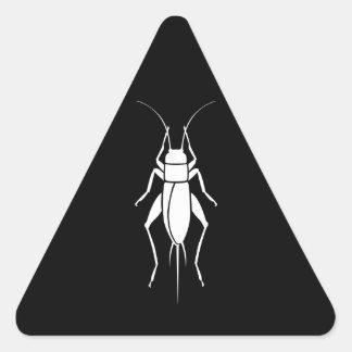 Cricket Triangle Sticker