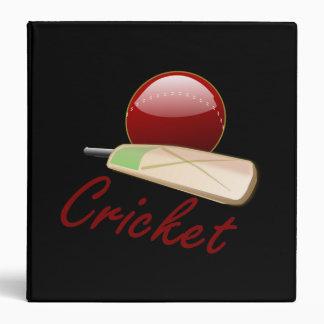 Cricket Vinyl Binder