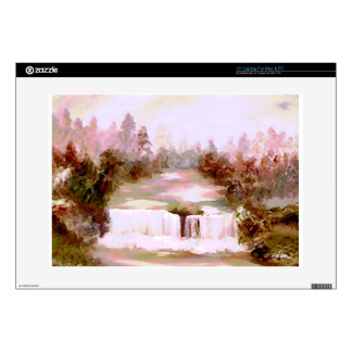 "Cricket Waterfalls Romantic Waterfall Landscapes Skins For 15"" Laptops"
