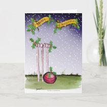 cricket xmas holiday card