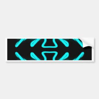 CricketDiane Art & Design Neon Turquoise Bumper Sticker