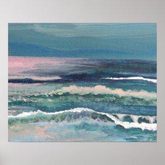 CricketDiane Beach Art Poster - Cricket's Ocean