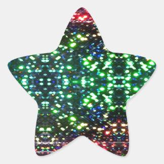 CricketDiane Colorful Light Field Design Star Sticker