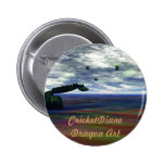 CricketDiane Dragon Art Buttons
