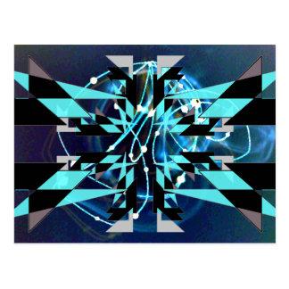 CricketDiane Extreme Designs Extreme Geometry Postcard