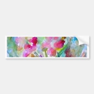 CricketDiane Flower Garden Bumper Sticker