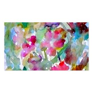 CricketDiane Flower Garden Business Card Template