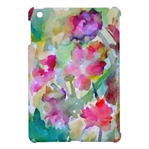 CricketDiane Flower Garden Watercolor Abstract iPad Mini Cases