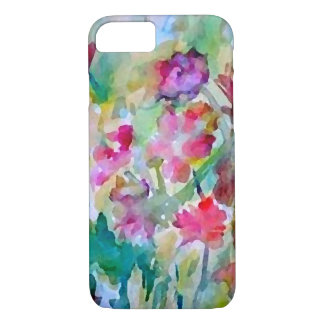CricketDiane Flower Garden Watercolor Abstract iPhone 8/7 Case