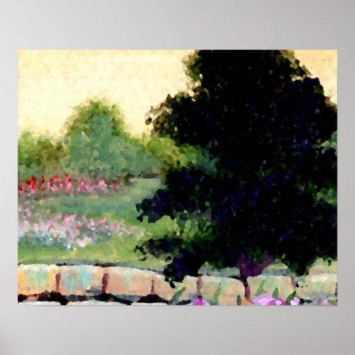 CricketDiane Flower Poster - Sunny Garden 2