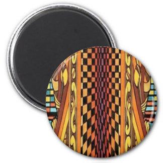 CricketDiane Geometrix Geometric Art Stuff 2 Inch Round Magnet