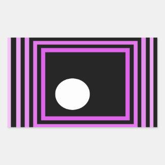 cricketdiane grey square strange funk rectangular sticker