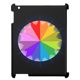 CricketDiane iPad Case Colorwheel Spectrum Colors