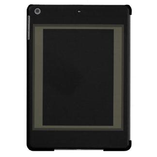 CricketDiane iPad Case Minimalism Black Grey Color