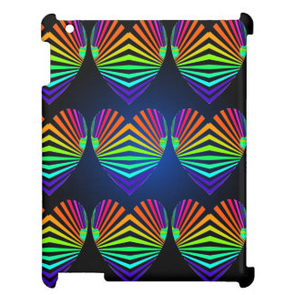 CricketDiane iPad Case Spectrum PopArt Hearts Fun