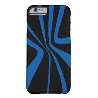 CricketDiane iPhone Case Blue Black Colorblock Art Barely There iPhone 6 Case