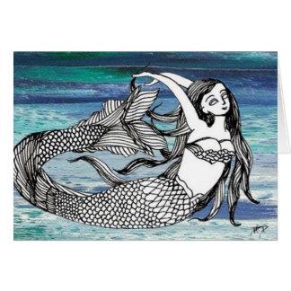 CricketDiane Mermaid Fantasy Art Stuff Card
