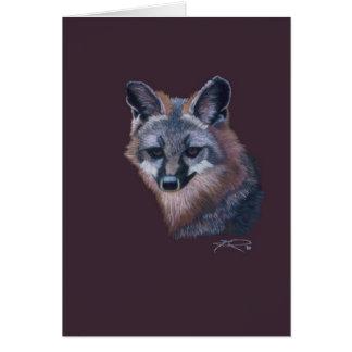 CricketDiane Mountain Fox Wild Animals Art Card