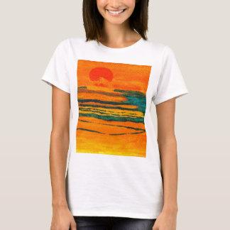 CricketDiane Ocean Art Orange Sunset Sea T-Shirt