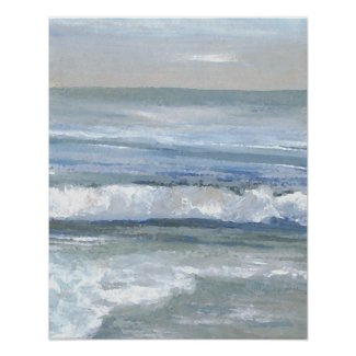 CricketDiane Ocean Beach Art Poster - Tranquility