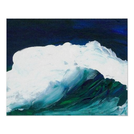 CricketDiane Ocean Painting Dream Wave Poster