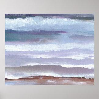 CricketDiane Ocean Poster Drifting on Gentle Waves