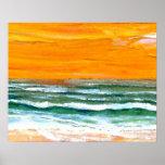 CricketDiane Ocean Poster - Joy Ocean Waves Beach