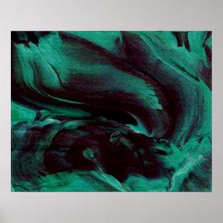 CricketDiane Ocean Poster - Malachite Dream